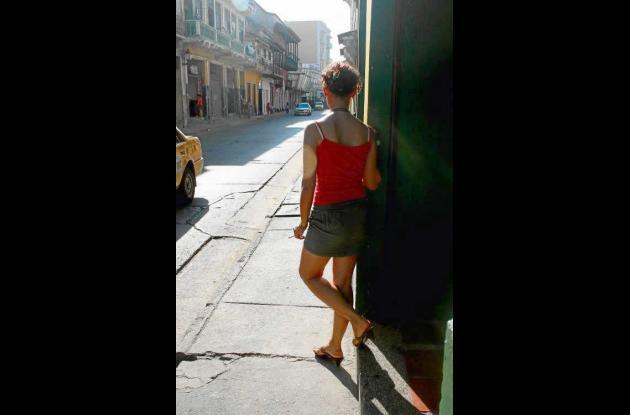 Como en casi todas las ciudades del mundo, en Cartagena hay prostitutas.