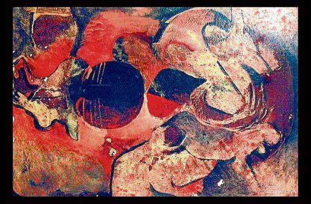 Pintura de Norman Mejía.
