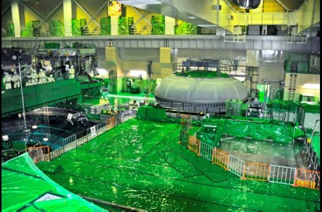 Planta nuclear Hamaoka en Japón
