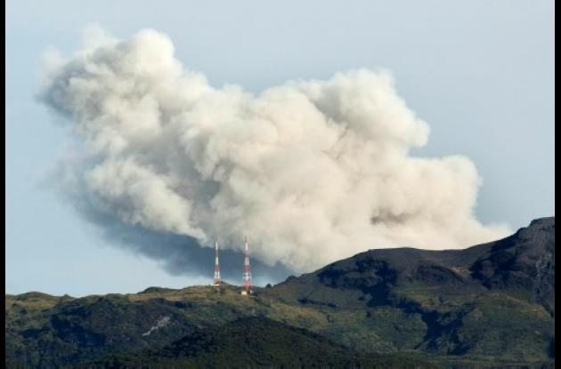 El volcán Galeras se encuentra en el departamento de Nariño. Foto: AP.