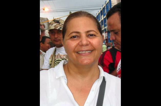 Mara Bechara de Zuleta, aspirante a la Alcaldía de Montería.