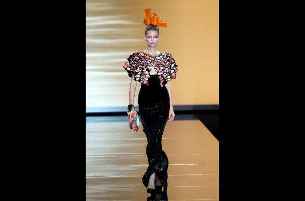 Desfile de Chanel y Armani en París