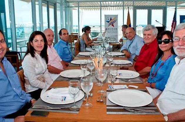 Almuerzo de Basc y la Cámara Colombo Americana