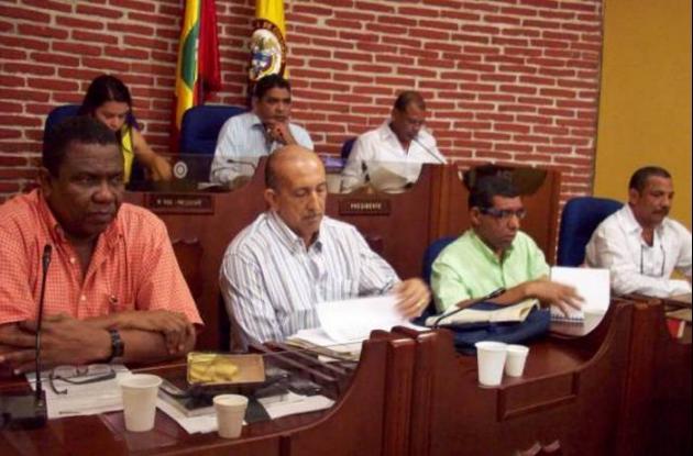 Sesión de Hacienda en el Concejo
