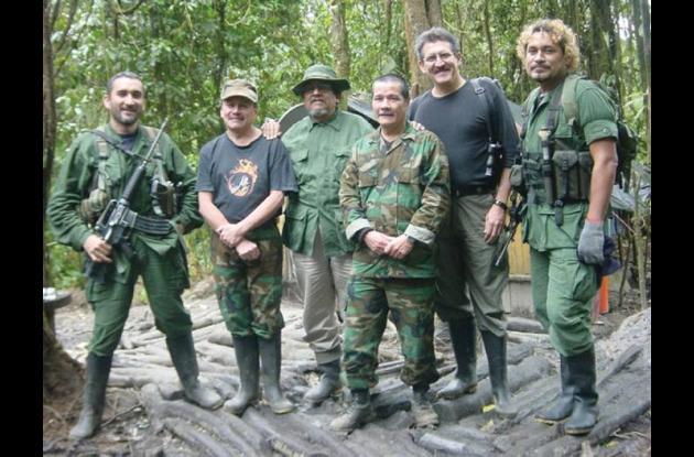 Integrantes dela guerrilla del Eln