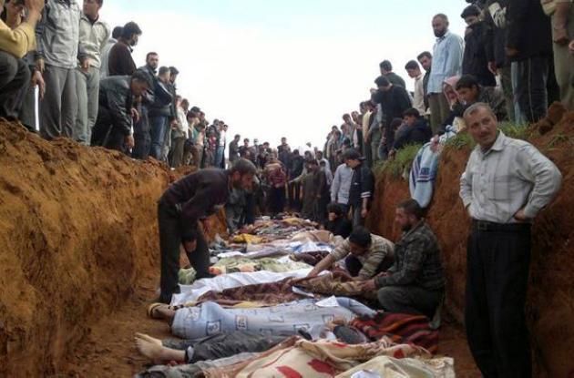 Más de 120 muertos en Siria entre el régimen y oposición