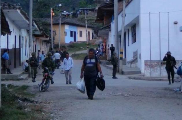 Las Farc atacan en Toribío, Cauca y Segovia, Antioquia