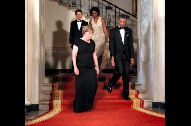 Michelle Obama elige de nuevo a Naeem Khan