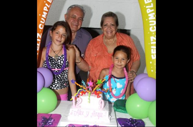 Cumpleaños de Alexandra y Angelina Carrizosa