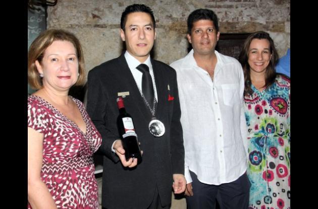 Cata de vinos en el Hotel Santa Clara
