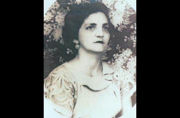 Berta Abdala, madre del periodista y escritor Juan Gossaín.