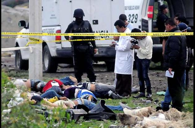 Masacres en México por narcotráfico