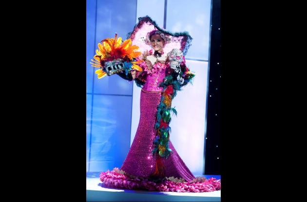 Vestidos nacionales en Miss Universo