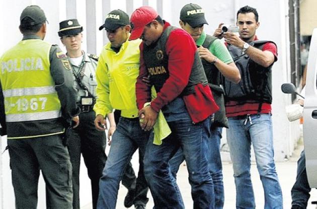 Policía capturado por narcotráfico