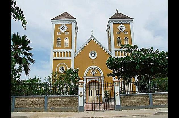 Iglesia del barrio Torices.