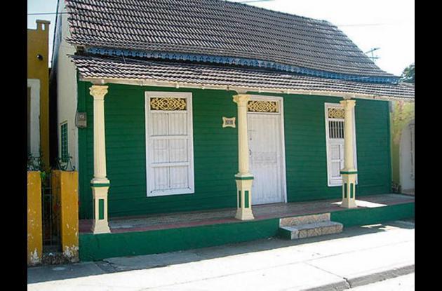 Casa tradicional en el barrio de Torices.