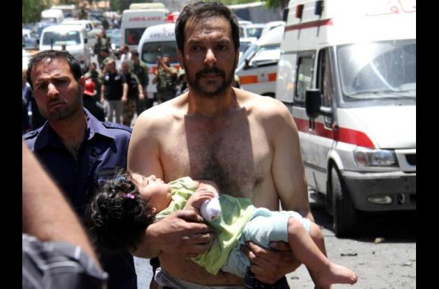 Observadores de ONU llegaron a lugar de masacres en Siria