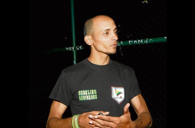 Felix  Castellón,  presidente  de  la barra.
