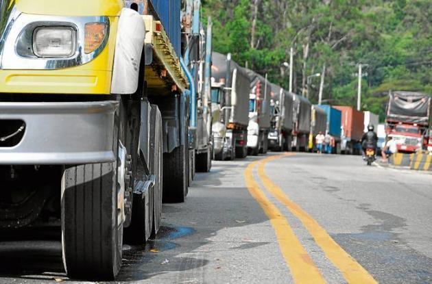 parque automotriz de carga en Colombia