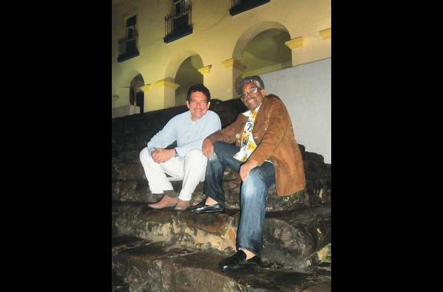 Pedro Blas Julio Romero y Gustavo Tatis.