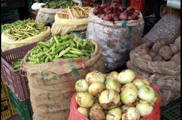 sector de alimentos tuvo una variación de -0,04% en la inflación