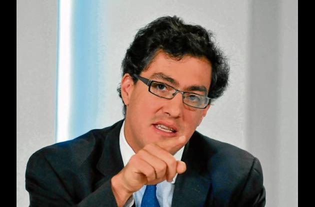 Juan Ricardo Ortega, director de la Dian