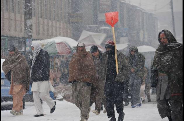 Invierno en Afganistán
