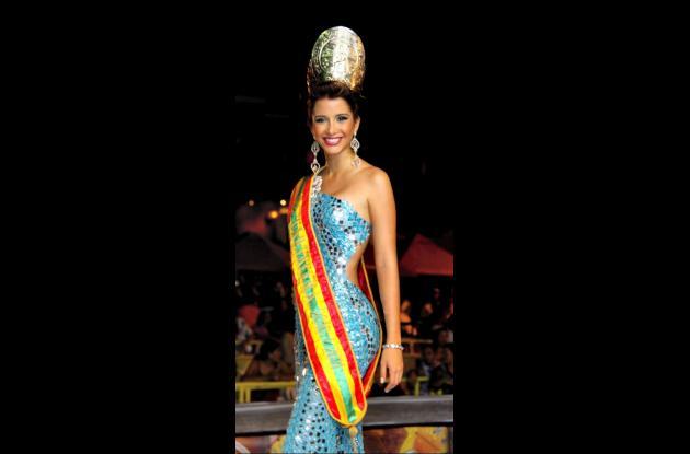 Laura Cantillo Torres fue elegida Señorita Cartagena 2011