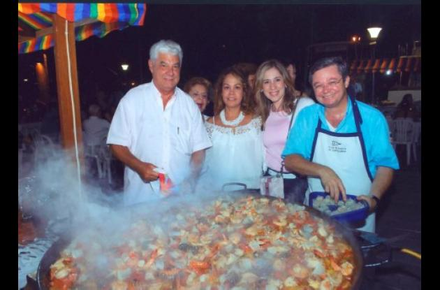 Jaime Borda, Cecilia Torres de Covo, María Alejandra de Cepeda y Juan Pablo Cepeda.
