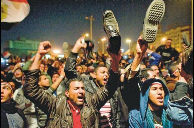 Protestantes en Egipto