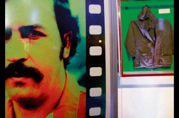 El capo de la droga Pablo Escobar