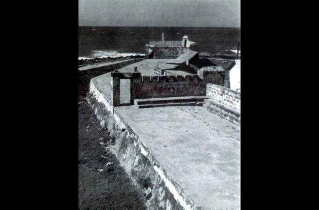 Imagen del baluarte en 1962.