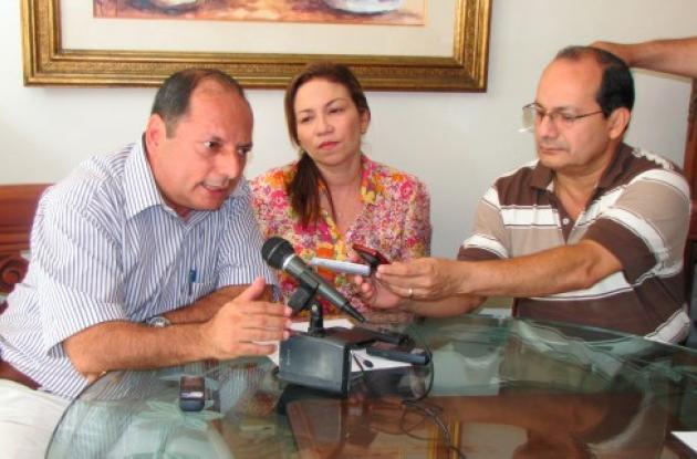 Elías Raad, Sandra Villadiego y Miguel Raad