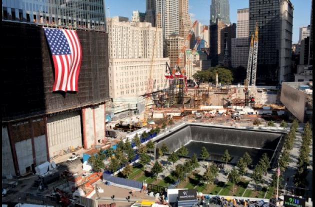 Word Trade Center tras atentado del 11 de septiembre