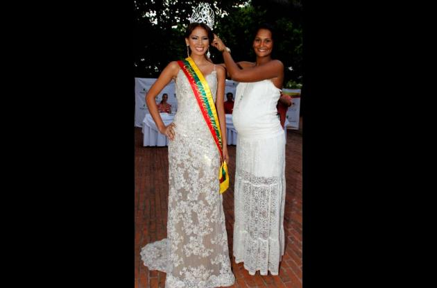 La constancia tiene corona, Karen Mendoza, Señorita Bolívar 2012