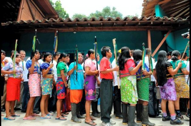Comunidad Embera Katío