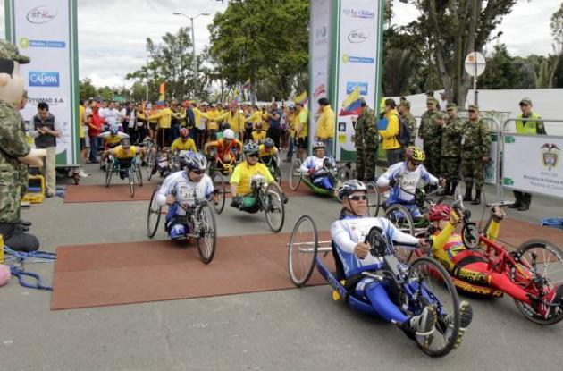 Militares heridos participaron en la Carrera 10 K de los Héroes