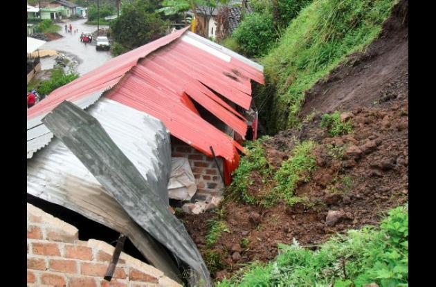 Deslizamiento de tierra en Nariño