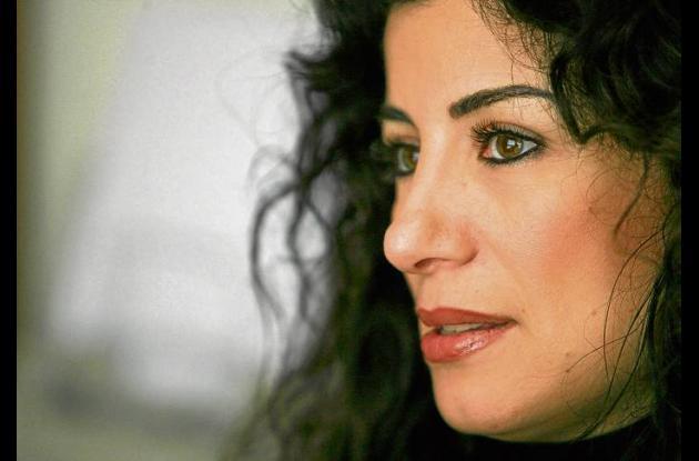 La poeta y ensayista Joumana Haddad (Beirut, 1970).