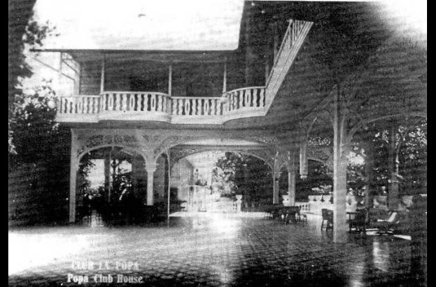Interior del Club Popa.