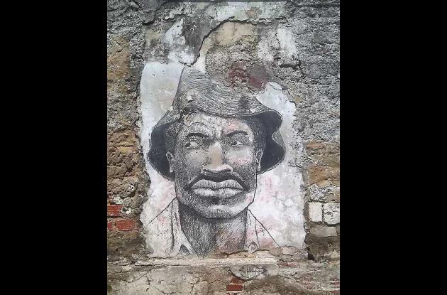 Pedro Romero, según los grafiteros de Getsemaní.