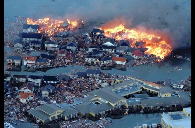 Devastador sismo en Japón