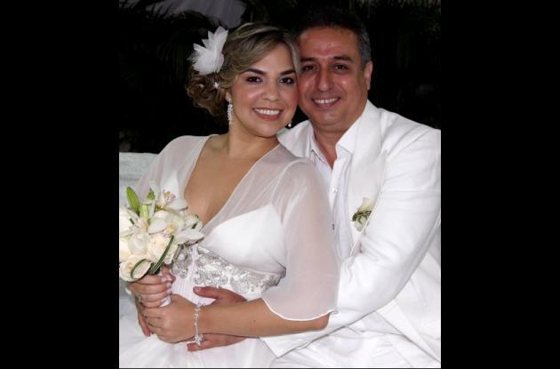 Claudia De La Ossa y Jorge Álvarez.