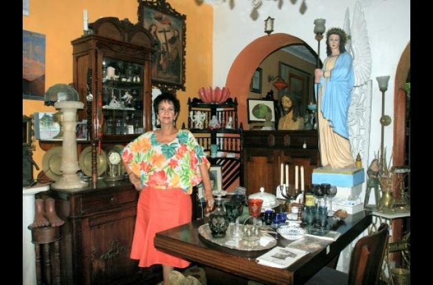 María del Socorro es conocida por su labor como promotora de arte.