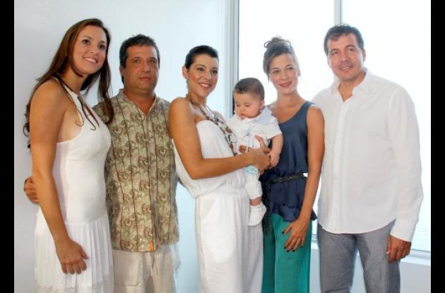 Bautizo de Sabina y Salvador Sarabia