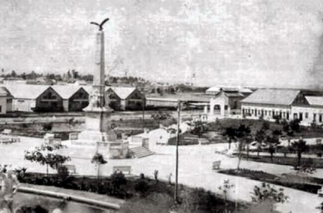 1920: Vista del parque del Centenario