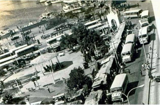 1978: Templete para restaurar. Parque del Centenario