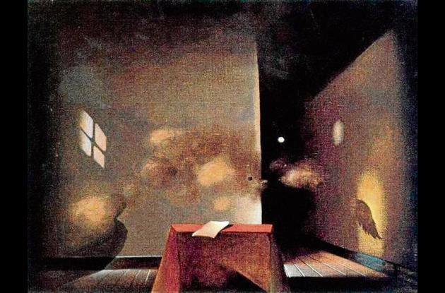 Obra de Antoni Tàpies.