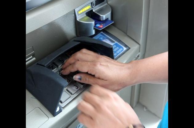 Cajeros electrónicos