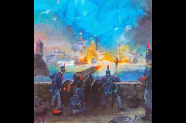Cartagena resiste el Sitio de Morillo, en 1815.
